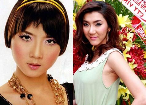 Ai gọt mặt V-line đẹp nhất showbiz Việt? 5