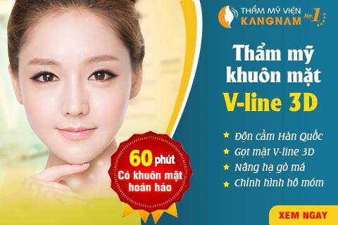 Thẩm mỹ khuôn mặt V line 3D - 60 phút để có gương mặt hoàn hảo 1