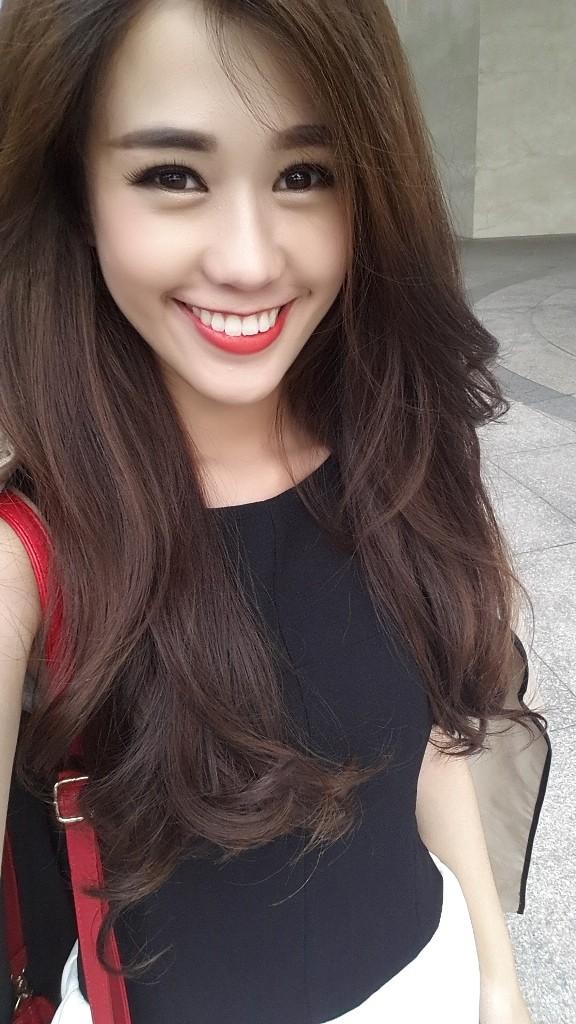 """Những hotgirl Việt sở hữu gương mặt V-line """"đẹp mê ly"""" 4"""