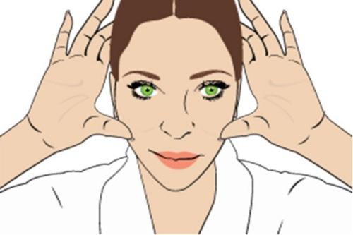 """""""Ảo thuật"""" massage giúp cơ mặt thon gọn hơn 3"""