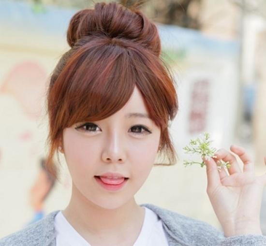 Những kiểu tóc cho mặt tròn thêm thon gọn hơn 9