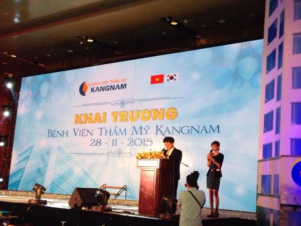Tường thuật trực tiếp sự kiện khai trương BVTM Kangnam 11
