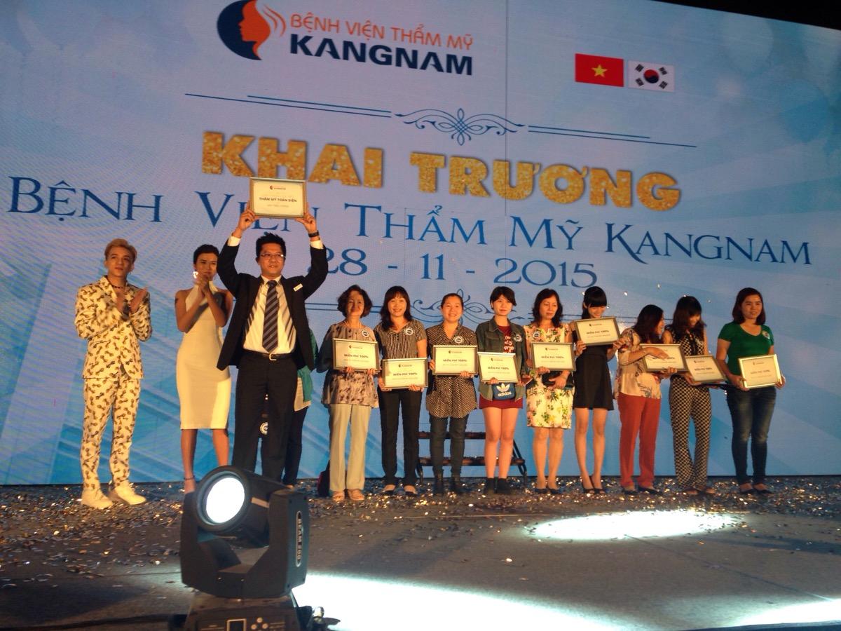 Tường thuật trực tiếp sự kiện khai trương BVTM Kangnam 18