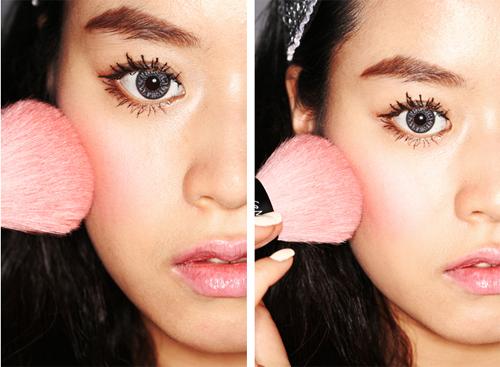 Cách để có gương mặt đẹp tự nhiên bằng Make-up