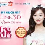 OFF 15% Thẩm mỹ khuôn mặt VLine 3D chuẩn tỉ lệ vàng – Công nghệ 3D