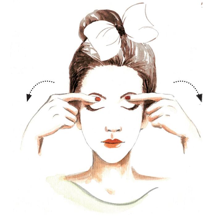 Cách massage cho gương mặt thon 6
