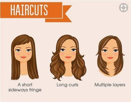 con gái mặt vuông chữ điền nên để tóc thế nào?