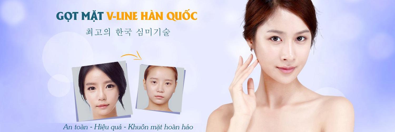 Gọt mặt V line Hàn Quốc thay đổi gương mặt toàn diện