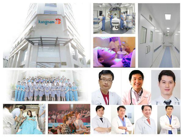 Kangnam sở hữu đội ngũ bác sĩ chuyên nghiệp theo từng chuyên khoa riêng biệt1